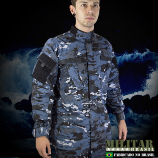 Gandola Uniforme ACU Camo Multicam Navy