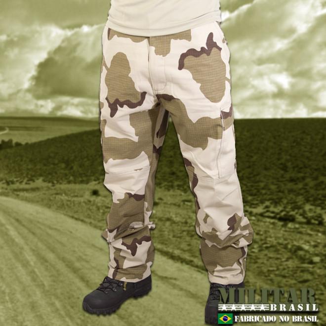 Calça MB 1982 - Camo Desert Tricolor - Militar Brasil - artigos ... fc6feae2d20