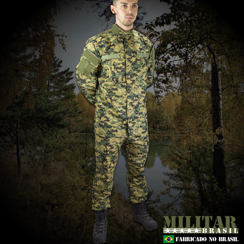 0d6aaf87318 Gandola Uniforme ACU Camo Digital Woodland - Militar Brasil ...