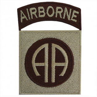Bordado Airborne (AA) - Caqui/TAN