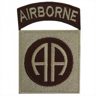 Bordado Airborne (AA) Caqui