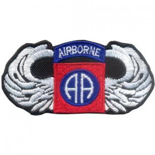 Bordado Airborne (AA) Azul c/ Asa Branca