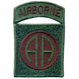 Bordado Airborne (AA) Verde C. Marrom