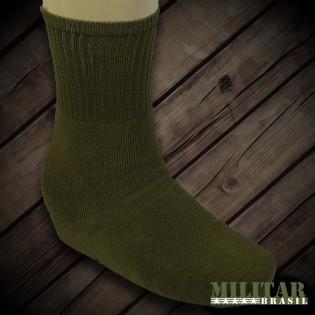 Meia Militar Masculina - Verde