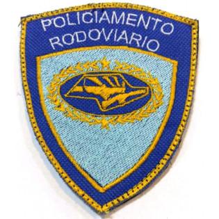 Bordado Policiamento Rodoviario com Velkro