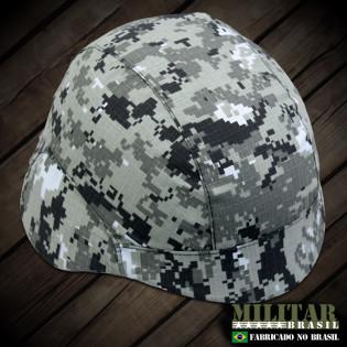 Capa para Capacete modelo M-88 - Camo Digital Urban Combat