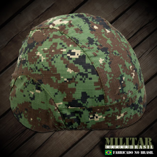 Capa para Capacete modelo m-88 Camo Woodland Marpat