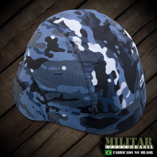 Capa para Capacete modelo m-81 Camo Multicam Navy