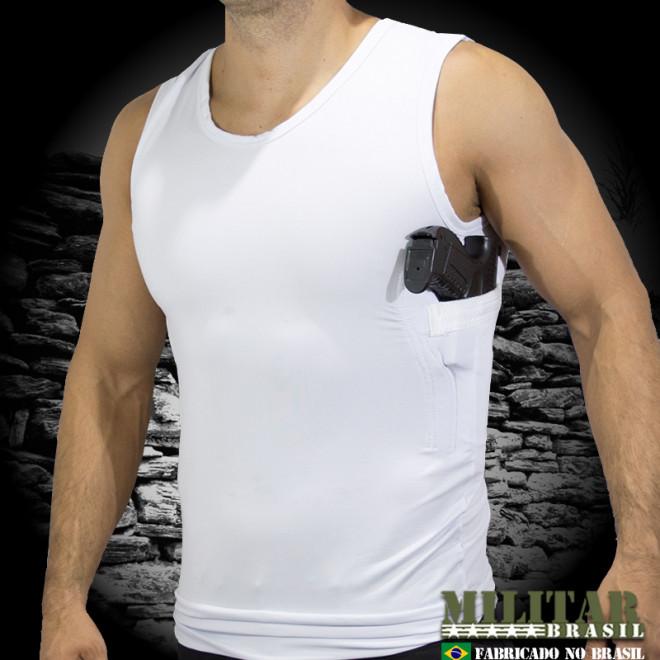 Camiseta Coldre Suflex Branca