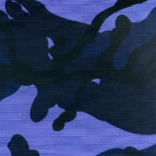 Tecido Rip Stop Profissional - Camo Woodland Azul