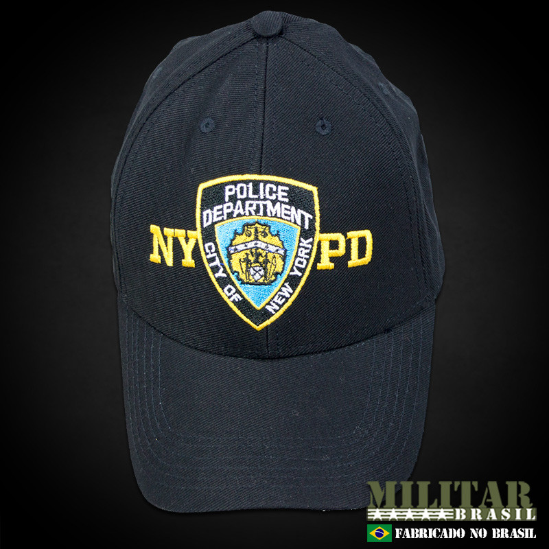 ec53a9dd4 Boné Police Department City of New York - Militar Brasil - artigos ...