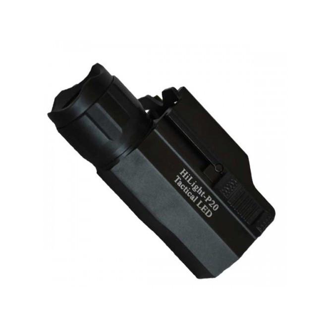 Lanterna para pistola Hilight P20 500 Lumens