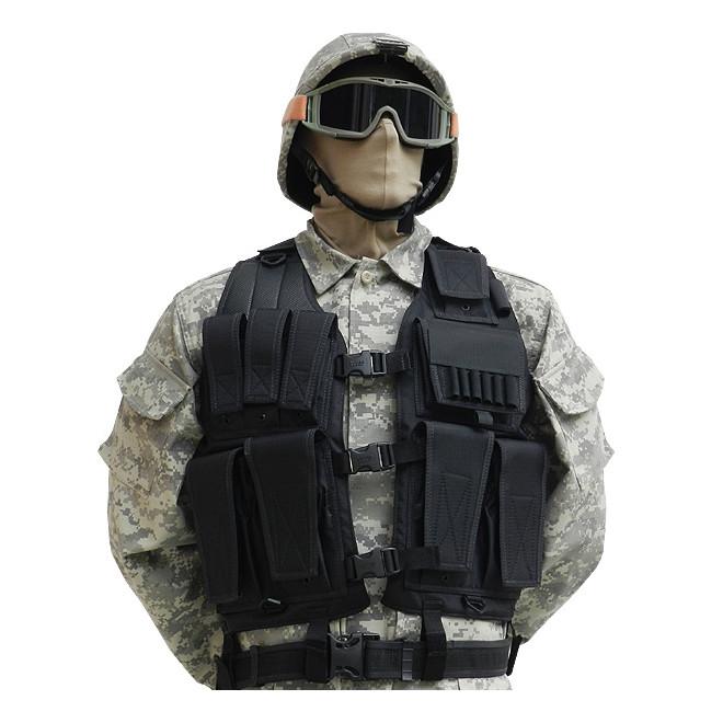 colete swat fecho preto militar brasil artigos militares