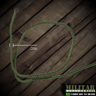 Corda Trançada 2mm Verde