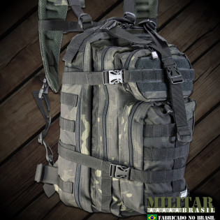 Mochila Assault - Camo Multicam Black