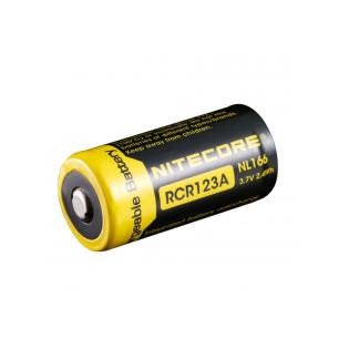 Bateria de lítio RCR123A Nitecore NL16