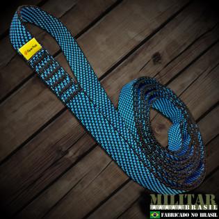 Fita anel costurada (solteira) 120cm / 24KN - COLORIDA
