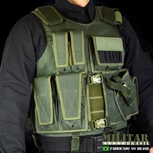 Colete Tático M-2 Canhoto - Verde