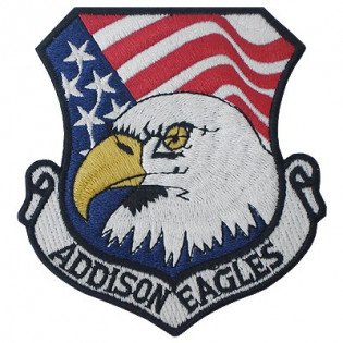 Bordado Addison Eagles