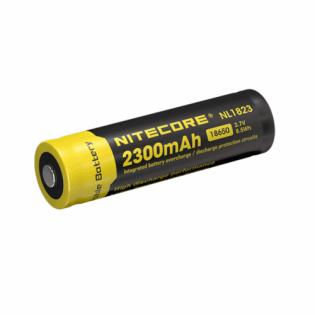 Bateria Nitecore de lítio recarregável 18650 com 2300 mAh
