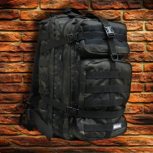 Mochila Militar Brasil Assault 50l - Camo Tiger Jungle