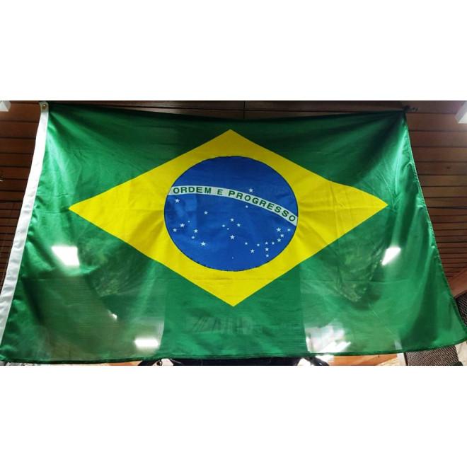 Bandeira Brasil 112cm x 160cm Oficial