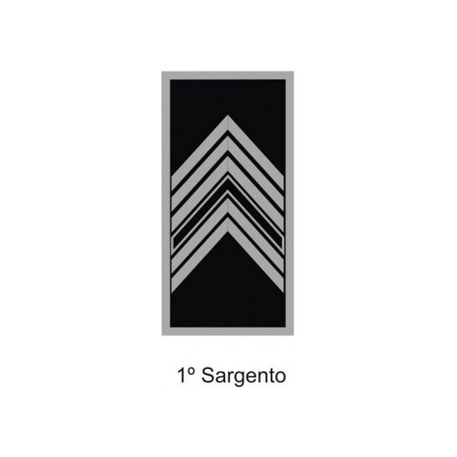 Divisa PM Emborrachado 1º Sargento