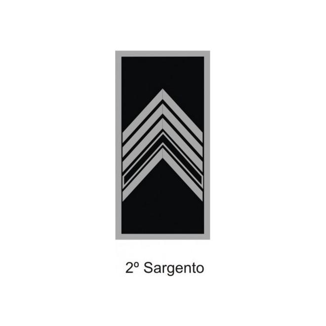 Divisa PM Emborrachado 2º Sargento