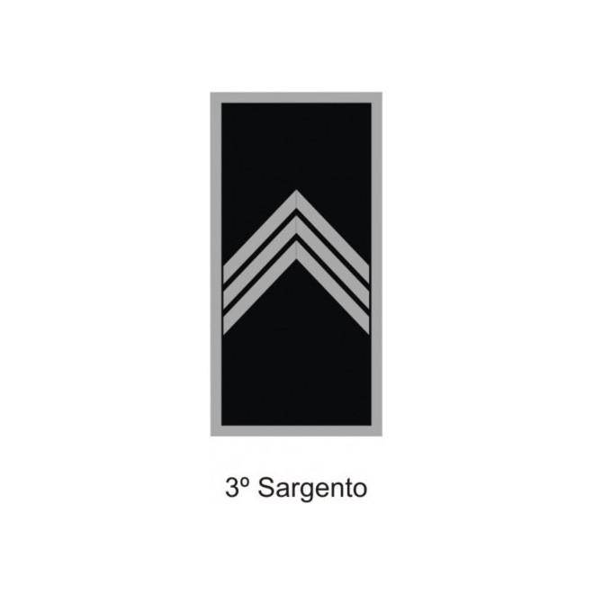 Divisa PM Emborrachado 3º Sargento