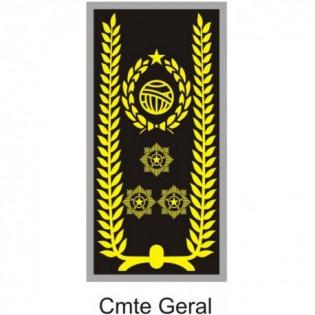 Divisa PM Emborrachado Comando Geral