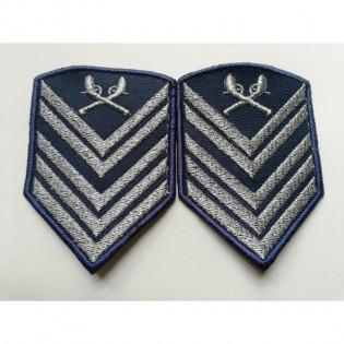 Divisa Bordada 1º Sargento o par