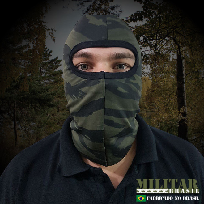 Balaclava Dryfit - Camo Tiger Jungle