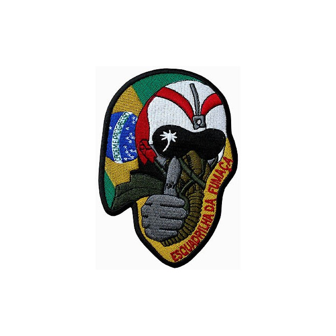 4e9ece614075b Bordado Esquadrilha da Fumaça - Capacete - Militar Brasil - artigos ...