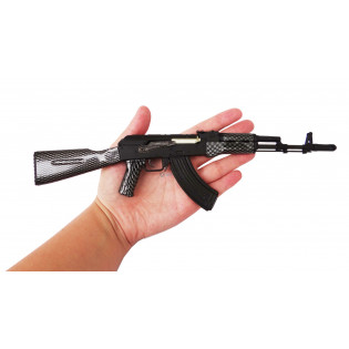 Miniatura AK-47 Classic Metálica - 30cm