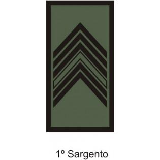 Divisa Aguia 1º Sargento emborrachada