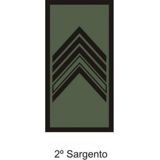 Divisa Aguia 2º Sargento emborrachada