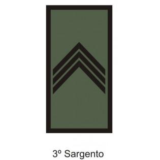 Divisa Aguia 3º Sargento emborrachada