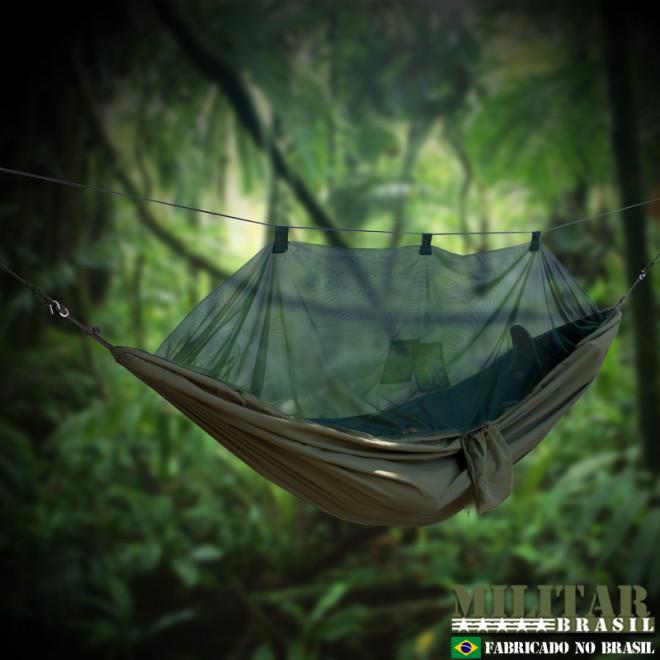 Rede de Selva Hunter - Verde