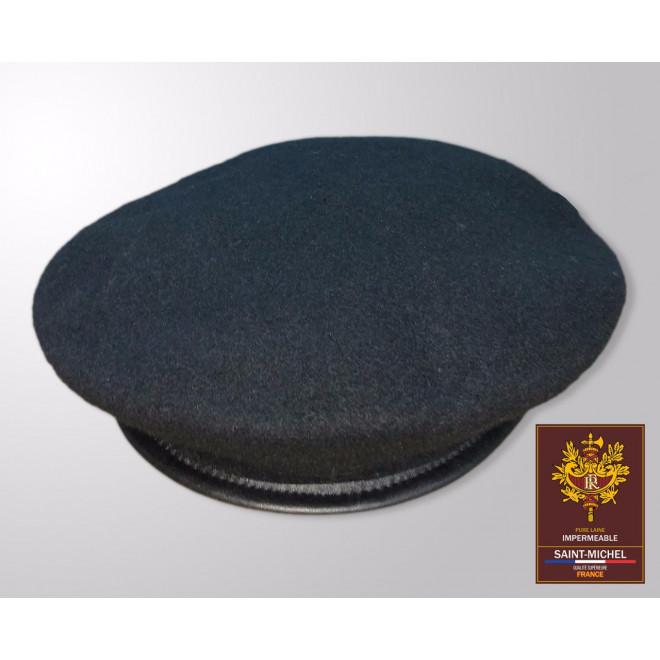 8dea03a798356 Boina Francesa Saint-Michel 100% Lã - Preta - Militar Brasil - artigos  militares