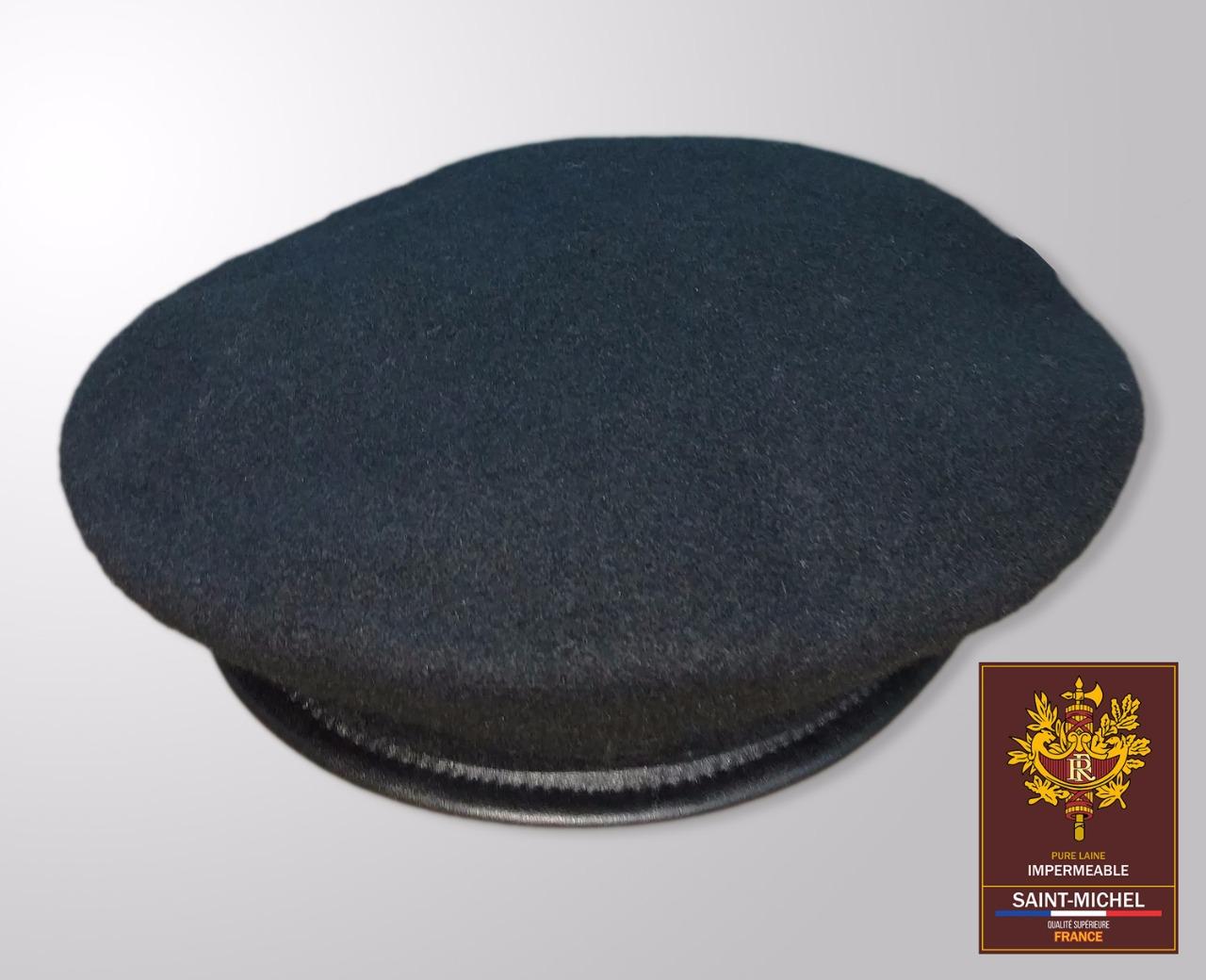 Boina Francesa Saint-Michel 100% Lã - Preta - Militar Brasil - artigos  militares 1d40c088727