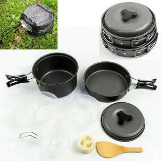 Conjunto De Cozinha DS 200 Fora De Casa Cooking Set Panelas