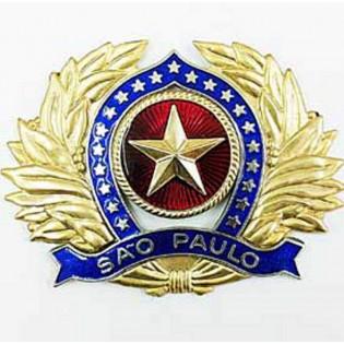 Distintivo de Boina Oficial PMSP