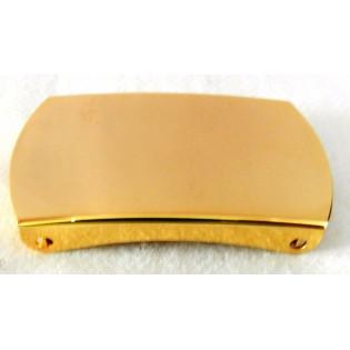 Fivela Modelo 2 Garras Flash de Ouro - Dourada