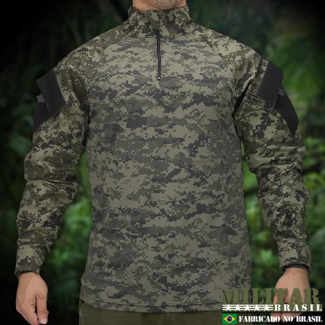 Combat Shirt Full Camo ACU G2